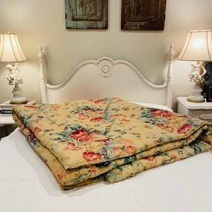 Discontinued Ralph Lauren Floral Full Comforter